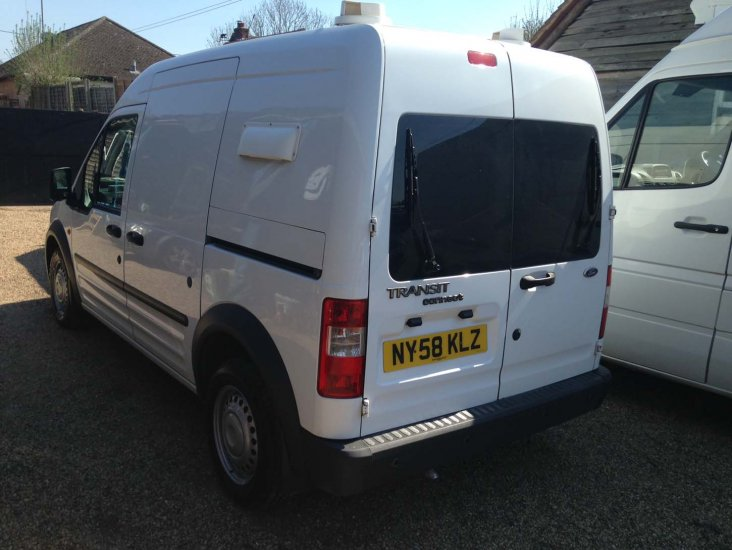 Ford Transit Connect T230LX LWB - Dog Van - Air Con - Click Image to Close