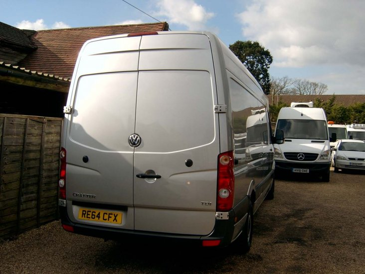 VW Crafter CR35 2.0 TDi 109 LWB Refrigerated - Click Image to Close