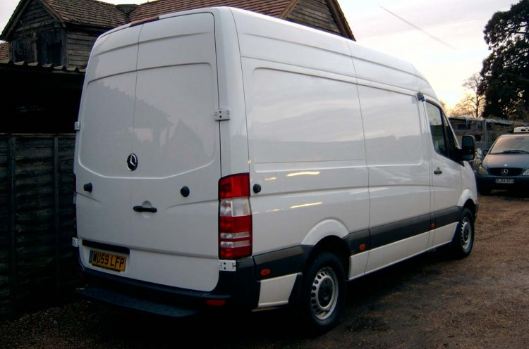 Mercedes Benz 311 CDi Sprinter MWB Refrigerated Chiller Freezer - Click Image to Close