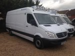 Mercedes Sprinter LWB Refrigerated 316 Freezer Standby ATP FRC