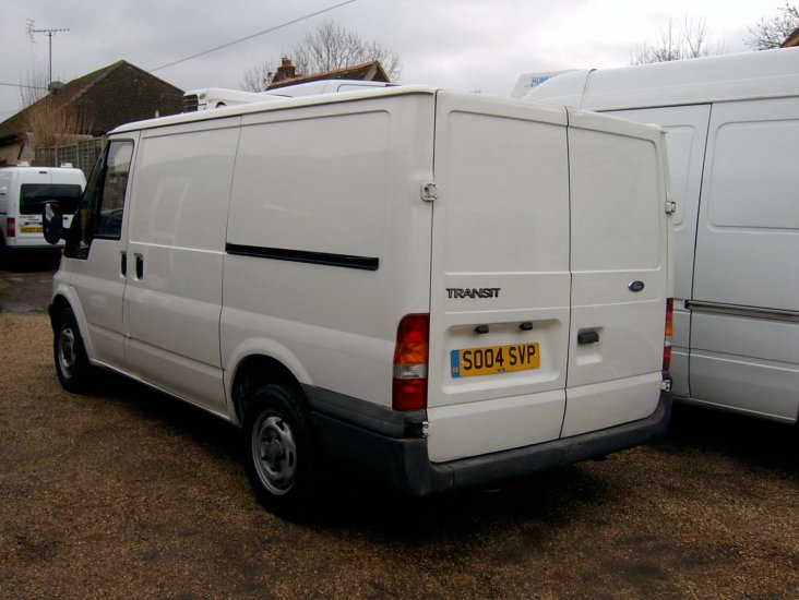 Ford Transit T280 SWB Refrigerated Chiller Fridge Freezer - Click Image to Close