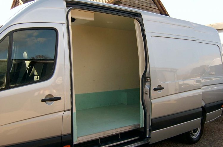 VW Crafter LWB Refrigerated CR35 2.0 TDi 109 LOW MILES - Click Image to Close